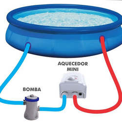 Kit aquecedor solar para piscina