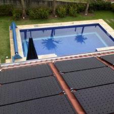 Aquecedor solar de piscina