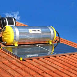 Boiler para aquecedor solar