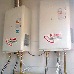 Instalação de aquecedor a gás lorenzetti