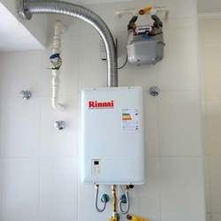 Instalação de aquecedor