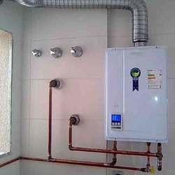 Sistema de aquecimento de água a gás