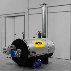 Aquecedor de fluido térmico industrial