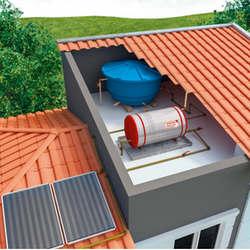 Aquecedor solar completo