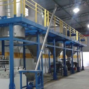 Caldeira industrial a lenha