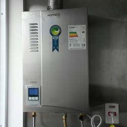 Instalação de aquecedor solar