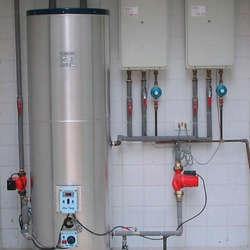 Instalação aquecedor a gás lorenzetti