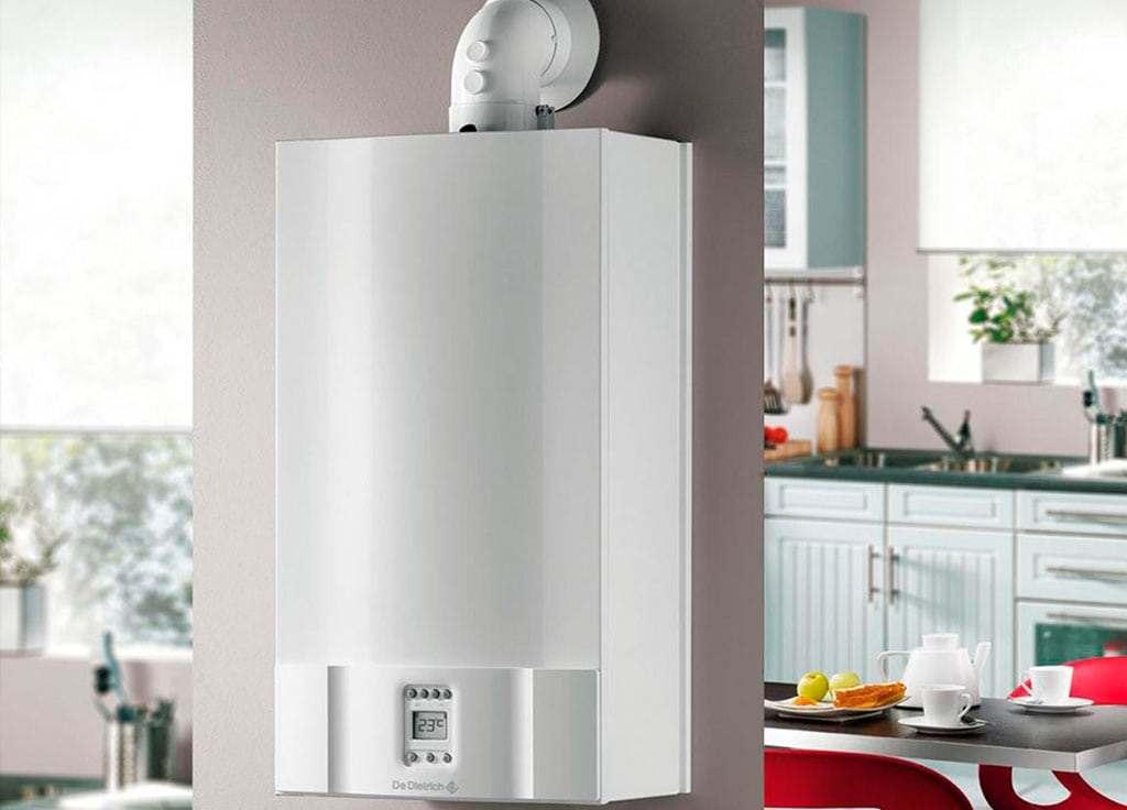 Instalação de caldeira de condensação sp