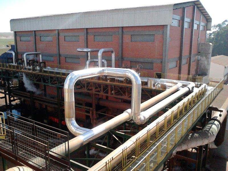 Instalação de caldeiras a vapor sp