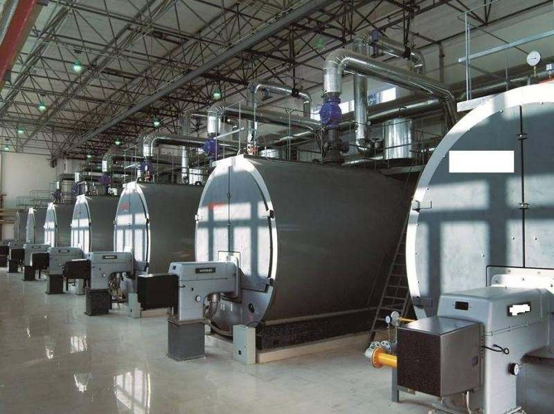 Instalação de caldeiras a gás