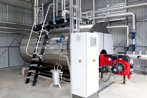 Prestação de serviço de instalação de caldeira