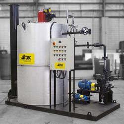 Aquecedor de fluido térmico para indústria