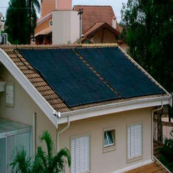 Instalação de aquecedor solar para piscina